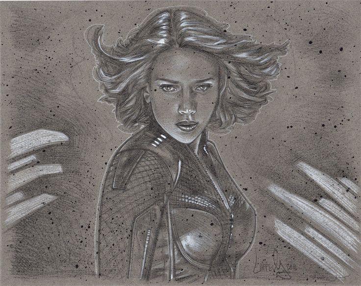 ArtStation - Black Widow, Jeff Lafferty