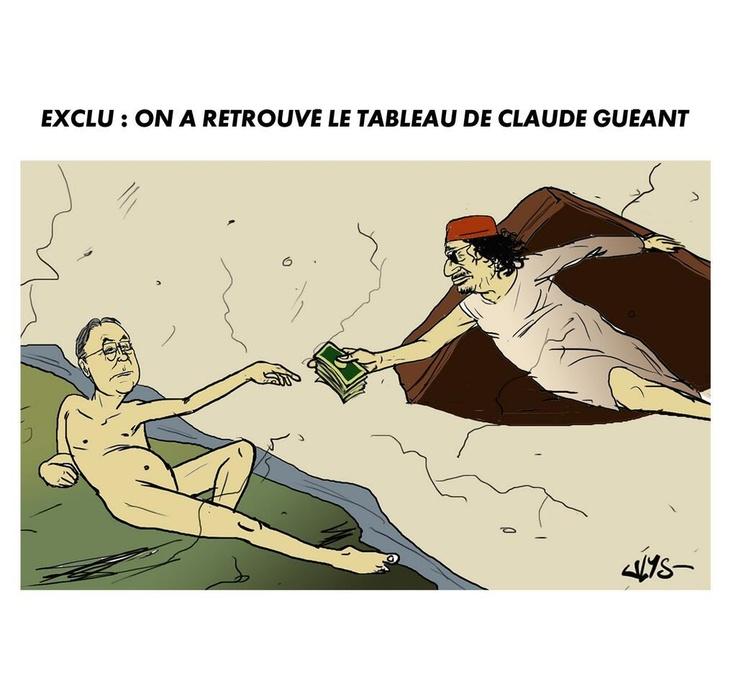 Claude Guéant: à quoi ressemblent ses tableaux? Laréponse des réseaux sociaux