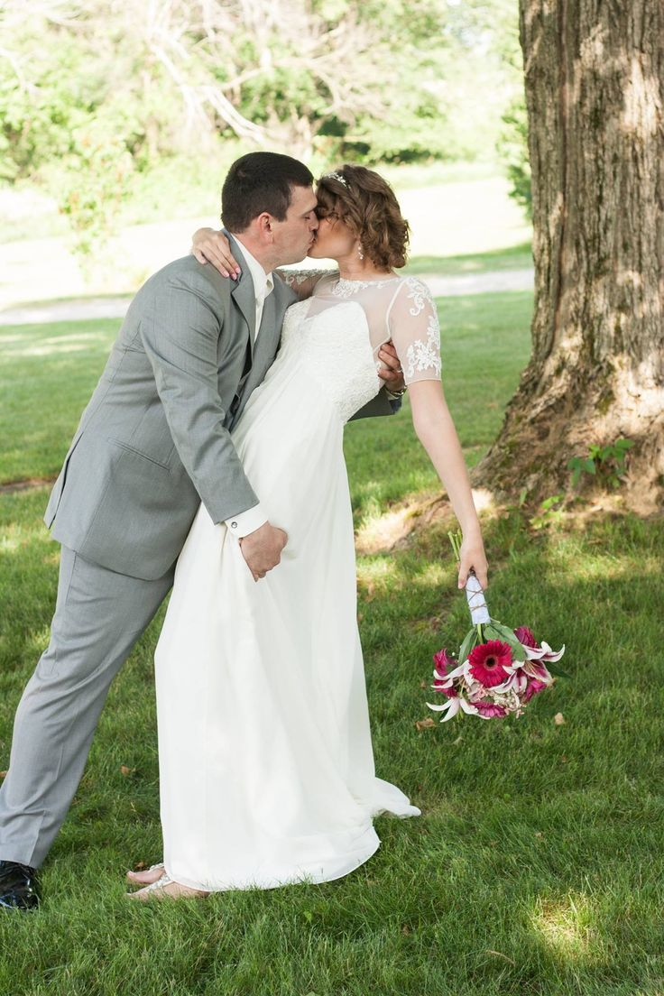 Wedding doors for rent - Outdoor Wedding Photos Vintage Style Wedding Dress With Lace Grey And Pink Wedding Colors Suit Rental From Men S Warehouse