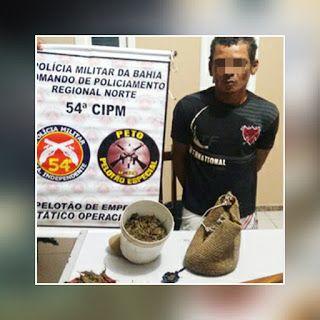 NONATO NOTÍCIAS: HOMEM FOI PRESO EM CAMPO FORMOSO COM MACONHA E MAN...