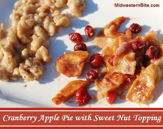 Cranberry Apple Nut Tart Recipe — Dishmaps