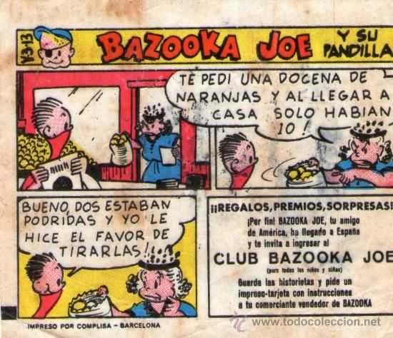 Las historietas de bazooca