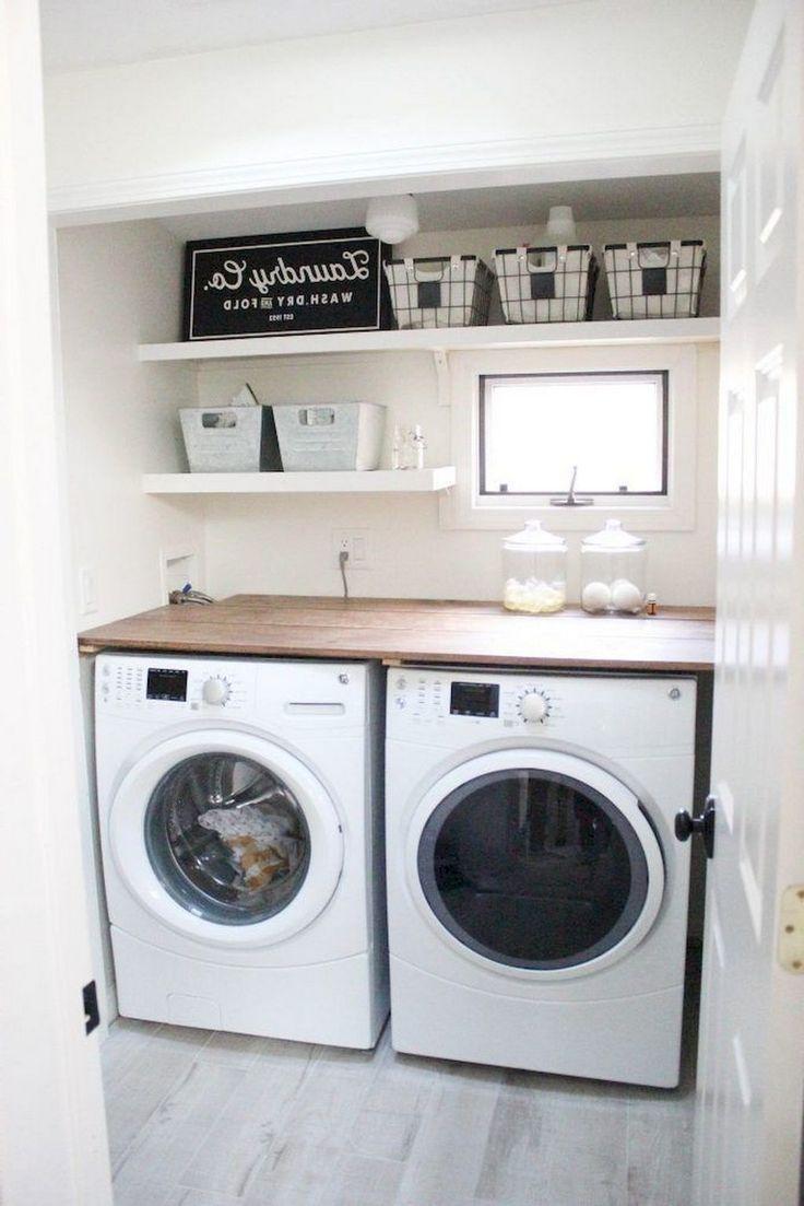 68 Stunning Diy Laundry Room Storage Shelves Ideas Rangement