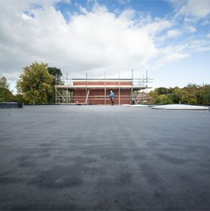 Flat Roof Refurbishment - Commissioned by Architects Tarpey Woodfine to insulate & refurbish over 1000 sqm of flat roof's on a nursing home in Staffordshire.