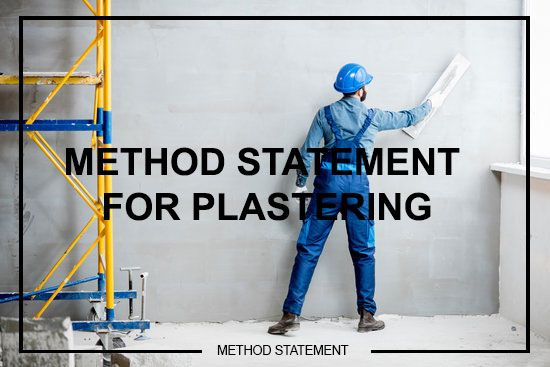 Method Statement for Cement Plastering – Architectural