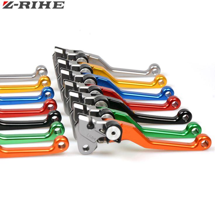 CNC Pivot Foldable Clutch Brake Lever Dirt Bike Off Road for HONDA 125 CR CRF SUZUKI 250 YAMAHA 450 150 ktm 85 SX 17/14 500 EXC #Affiliate