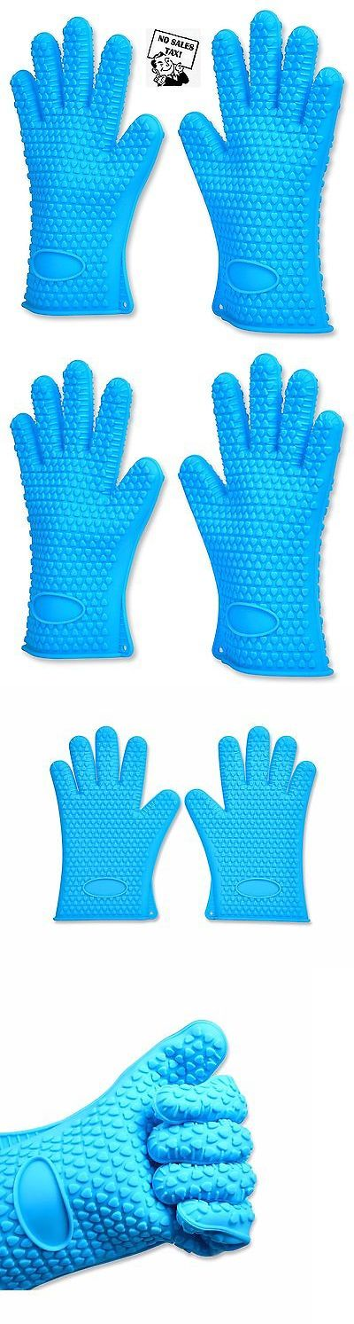 Oven Mitts and Potholders 20661: Heat Resistant Gloves - Water Proof Silicone Oven Mitts - Non Slippery -> BUY IT NOW ONLY: $33.22 on eBay!
