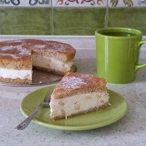 Грушевый торт с рикоттой