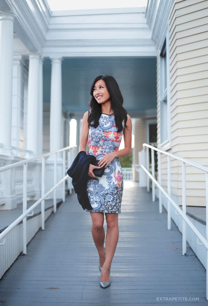 Wedding Wear: Clover Canyon Print Dress + Metallics