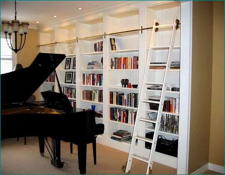 86 Best Images About Library Ladders And Bookshelves On