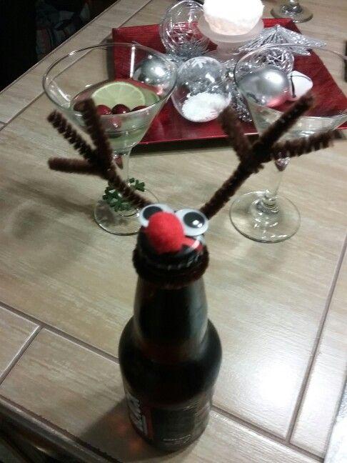 Une bière renne au nez rouge?? Pourquoi pas ??...