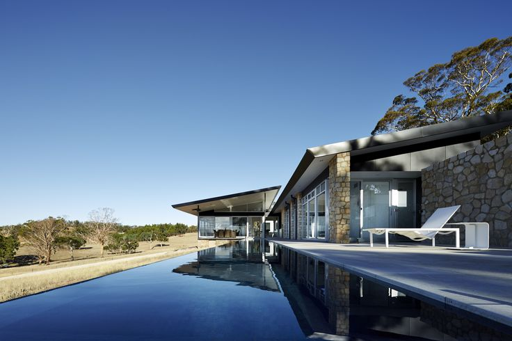 Residential Architecture – Houses (New) Award – Grass Trees by Max Pritchard Gunner Architects. Photo by Sam Noonan.