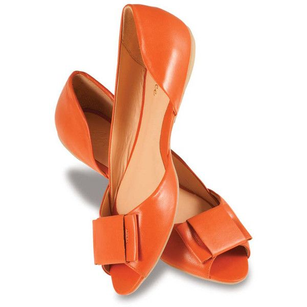 Jenna in Orange: Style, Jenna, Colors, Ballet Flats, Clothes Shoes Jewelry, Flat Shoes, Accessories, Orange Flats, Fashionable Flats