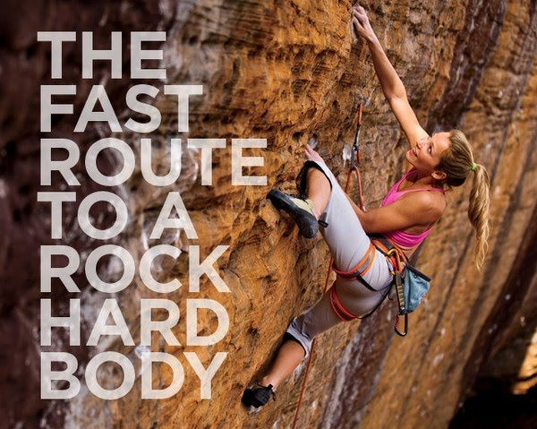 The Fast Route to a Rock-Hard Body  - Photo by: Photo by Chris Noble http://www.womenshealthmag.com/fitness/rock-climbing