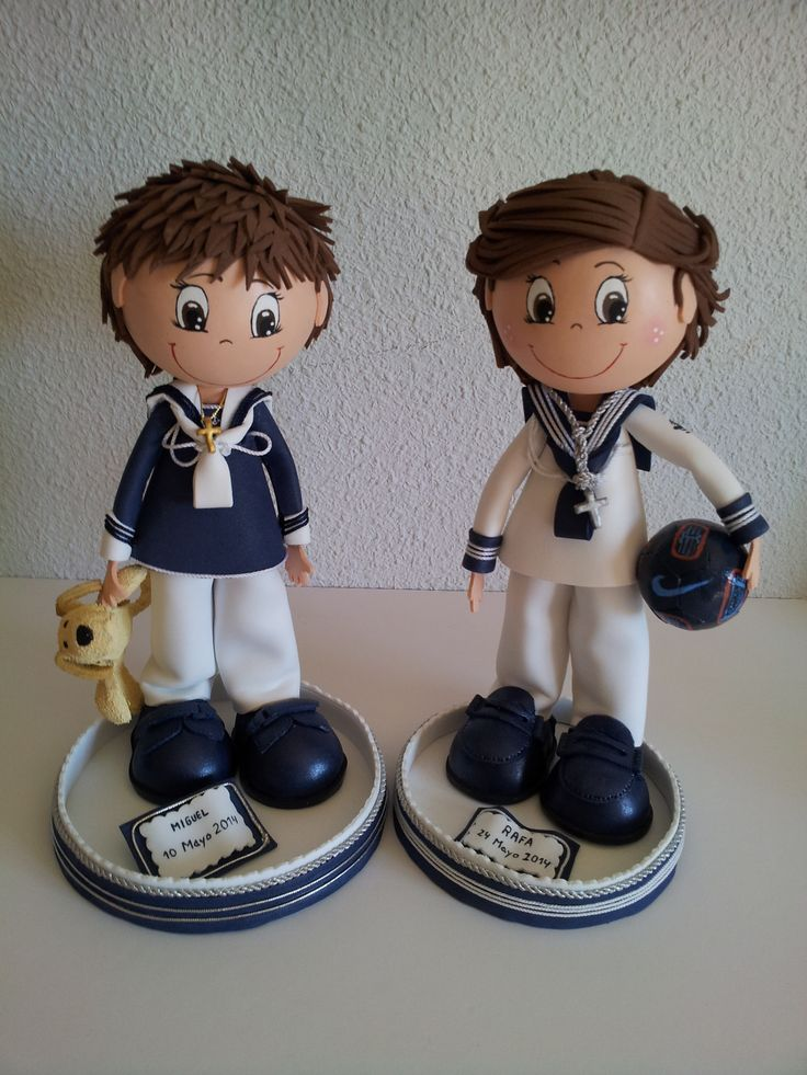 Muñecos artesanales totalmente personalizados