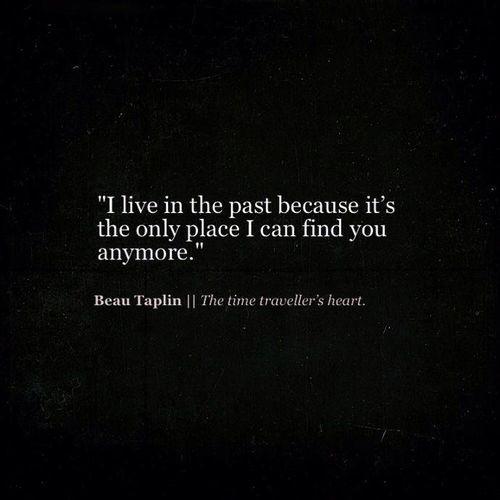 Beau Taplin   The time traveller's heart.