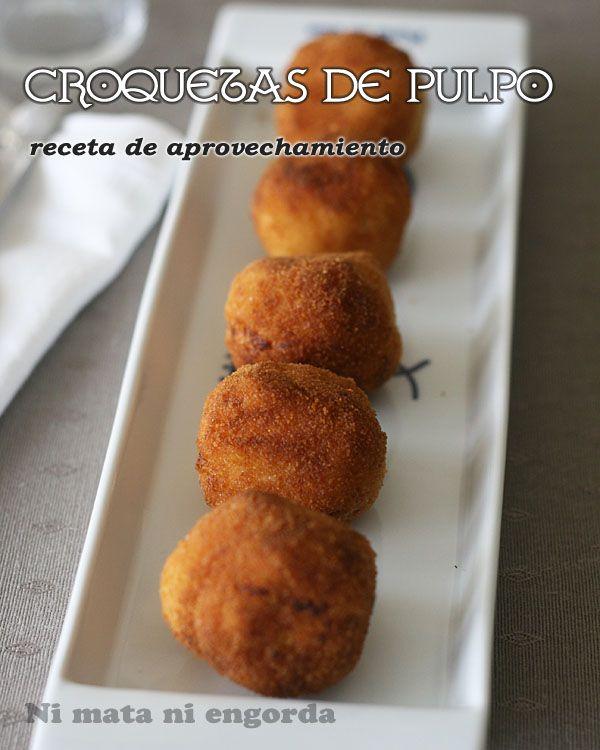 Croquetas Pulpo