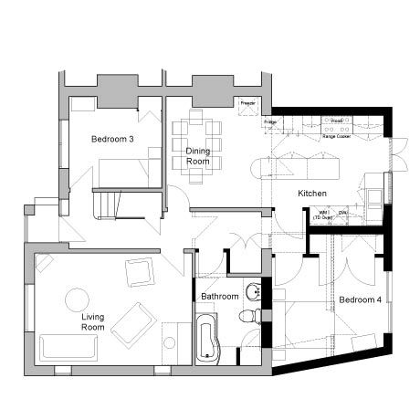 kitchen extension floor plans 71 best images about plan single storey on 4746