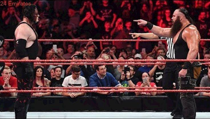WWE RAW 13th November 2017 , braun strowman vs Kane