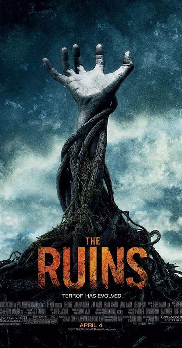 Directed by Carter Smith.  With Shawn Ashmore, Jena Malone, Jonathan Tucker, Laura Ramsey. A group of friends whose leisurely Mexican holiday takes a turn for the worse when they, along with a fellow tourist, embark on a remote archaeological dig in the jungle where something evil lives among the ruins.