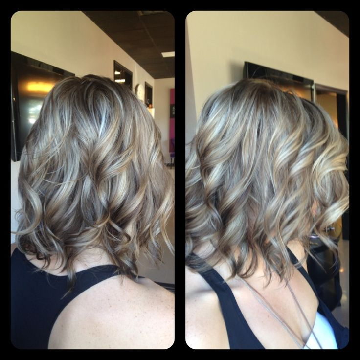 Amber Heater, Gorgeous Hair Salon, Salisbury MD Darker for fall, ashy blonde, cool toned blonde, highlights and lowlights, multitonal blonde with soft big curls