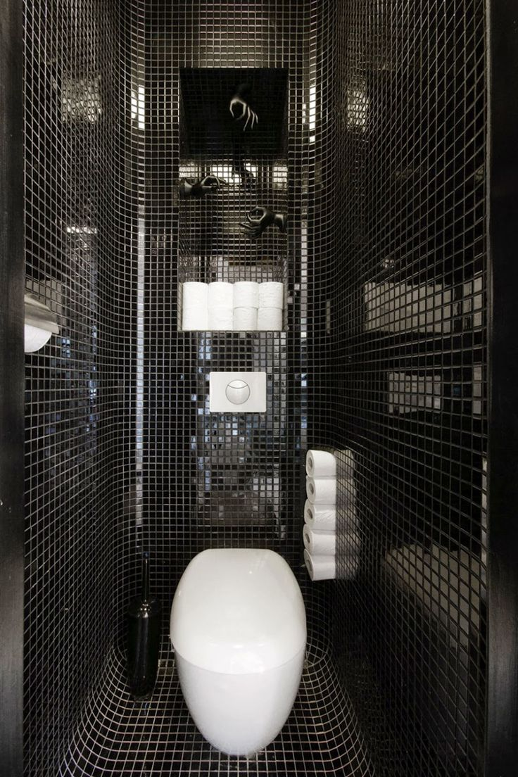 85 best toilet images on pinterest bathroom ideas toilets and 9 examples of black and white bathrooms for those who love contrast