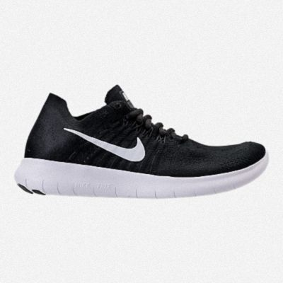 085e221b47a0 WOMENS NIKE FREE RN FLYKNIT 2018 RUNNING SHOES 880844 001 Black White  Anthracite Dark Grey