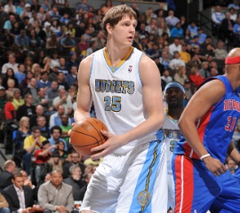 Timofey Mozgov signs a new deal to remain in Denver.