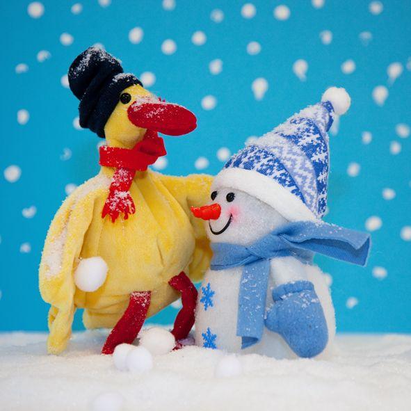 Arie en het sneeuwballengevecht.