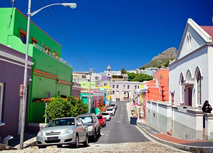 De Waterkant Neighbourhood - colourful streets