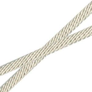 Venus Ribbon 1/4-Inch Flat Spiral Braid, Winter White, 5 Yards $8.35