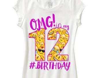 OMG zijn mijn verjaardag gemaakt op bestelling met elke leeftijd ☆How om te bestellen •Selecteer grootte •Voeg toe aan winkelwagen •plaats de leeftijd die u in de toelichting bij sectie van het koper bij het uitchecken wilt ☆Sizing •2T-5t zijn unisex peuter shirt •Girls XS 3/4 Kleine 6/6 x Middellange 7/8 Grote 10/12 XL 14/16 •Boys XS 4/5 Kleine 6/8 Middellange 10/12 Grote 14/16 ☆Shipping en verwerking keer • alle shirts wordt binnen 3-5 werkda...