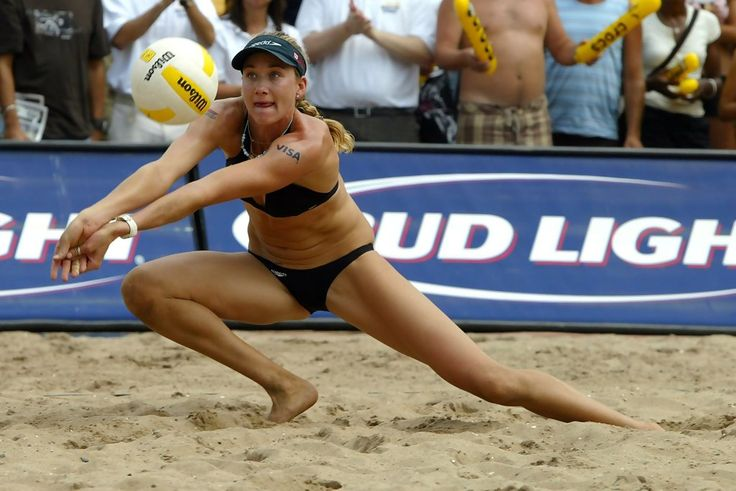 Olympic Volleyball player Keri Walsh Jennings
