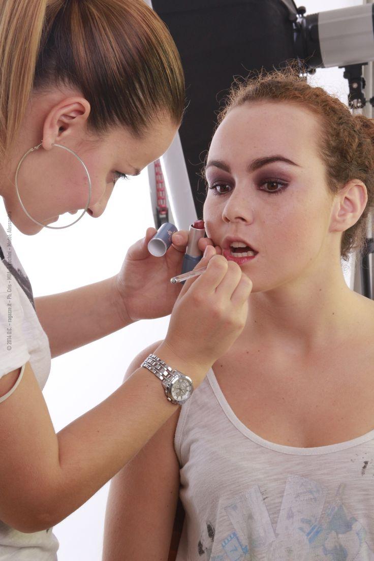 Produzione: www.officinacreativa.us  #makeup #backstage