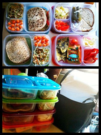 Great idea! I'm going to get one of these boxes and get started right away!: Easy Lunches, Kid Lunches, Kids Lunches, Lunch Ideas, Schools Lunches, Lunches Boxes, Lunches Ideas, Boxes Lunches, Yummy Lunches