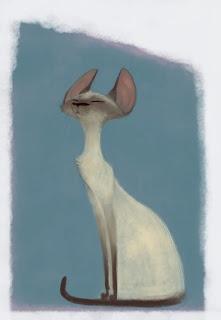 Chats,Siamois, Cats, Siamese, Gats, Siamès, L'étrange cas de M.Cadavreski