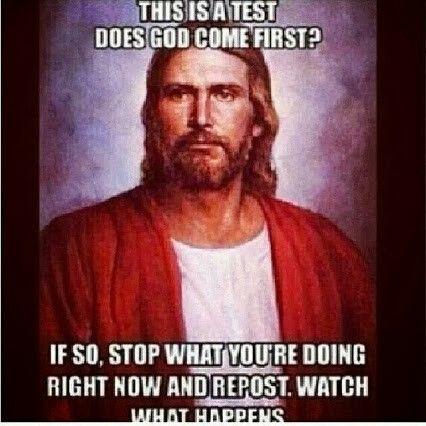Because I love God