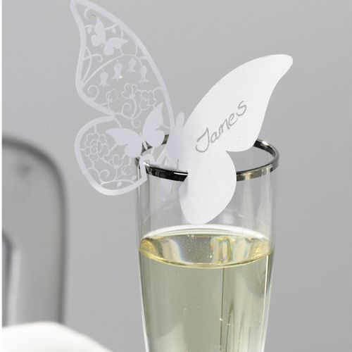 This is Pretty - Butterfly Place Cards