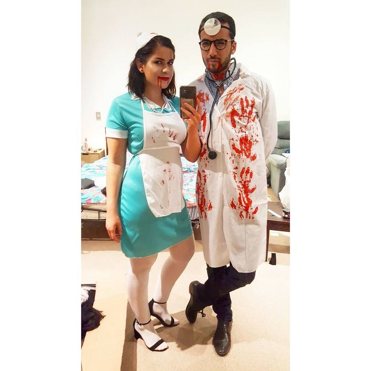 31 October 2017 Doctor and Nurse  #halloween #costume #cosplay #fun doctorandnurse #datenight #couple #powercouple #sexyman #traveller #travelling #newzealand #gym #fitness #bodypositive #love #travel #latina #healthy #pilates #lifestylechange #nature #beauty #health #greeneyes #wellington #wellingtontodo #handsomemorrocanman