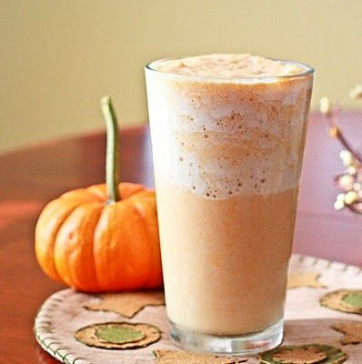 WHAT YOU NEED  Low Carb Pumpkin Smoothie  1/4 cup canned pumpkin (not pie filling)  1/4 cup heavy cream   3/4 cup water   1 tsp pure vanilla extract and 2 packs of sweetener of choice ( sticking with only those that have zero carb impact)  1/2 tsp pumpkin pie spice  1/2 cup ice      MAKE IT    Blend all ingredients thoroughly in your blender - you will need a blender that can crush ice