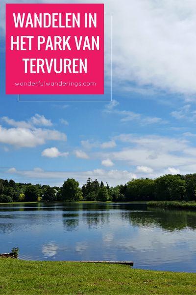 Een wandeling in het park van Tervuren