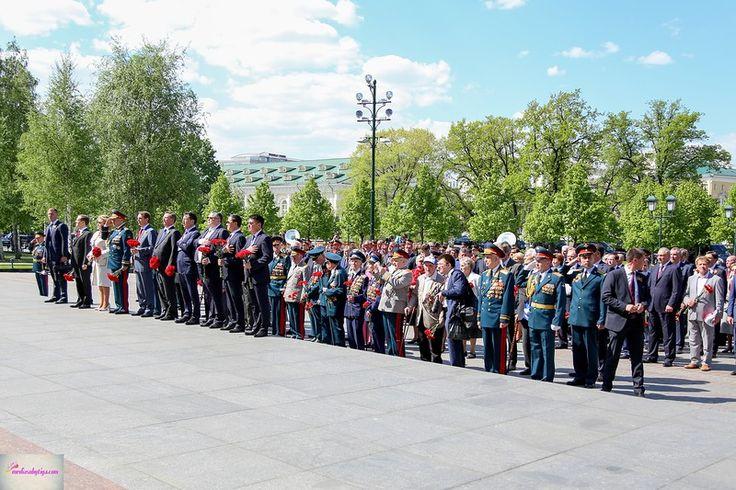 9 мая, возложение венков