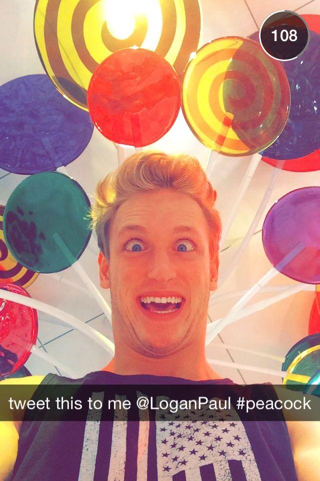 Logan paul snapchat