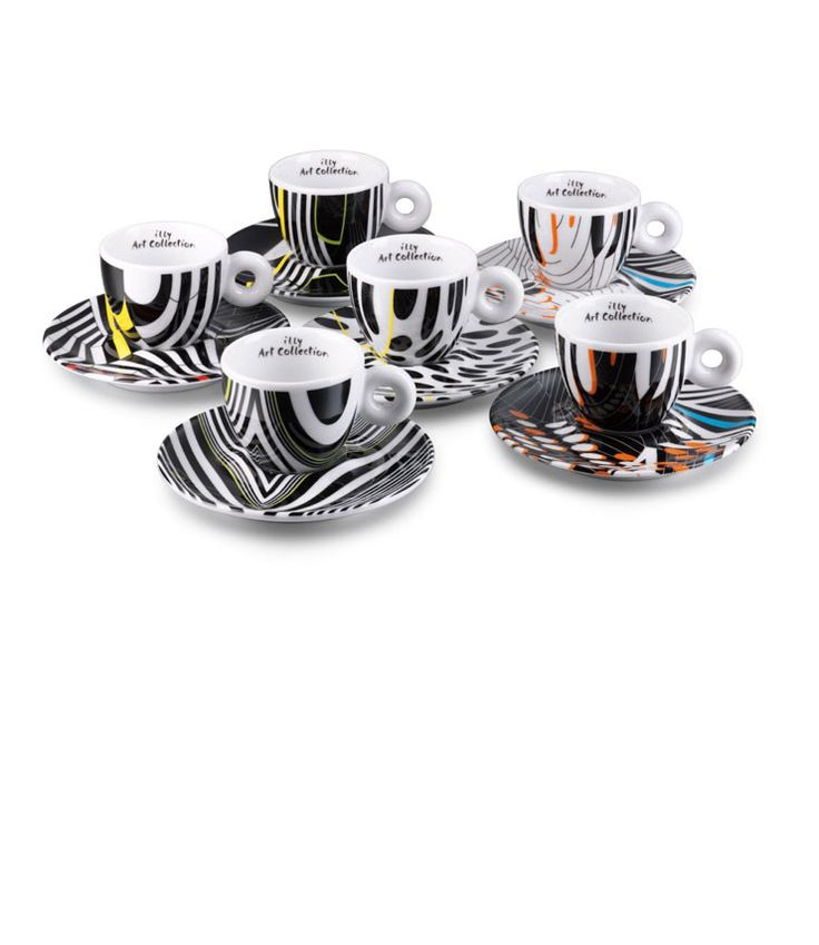 Tobias Rehberger ILLY cups