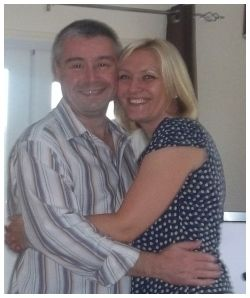 "Nicola and Paul, Mansfield: ""I remember sitting at my PC crying with laughter at his sense of humour and feeling moved by his caring and compassionate nature. We had similar views on most things that are important in a successful relationship and decided to exchange emails then after two weeks I contacted Paul by telephone and we spoke for over an hour."""