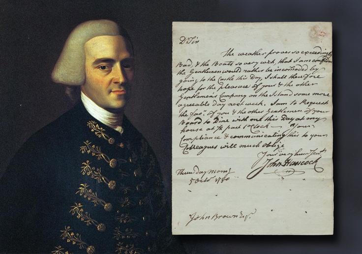 john hancock essay Genealogy for john hancock, jr (1737 - 1793) family tree on geni, with over 175 million profiles of ancestors and living relatives.