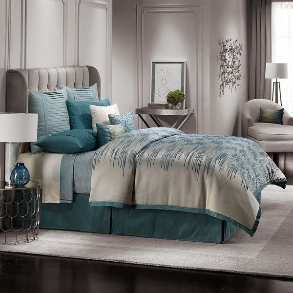 Jennifer Lopez bedding collection Estate 3-pc. Duvet Cover Set () (240 CAD) ❤ liked on Polyvore featuring home, bed & bath, bedding, king size pillow shams, queen duvet set, jennifer lopez, king duvet set and king size duvet cover sets