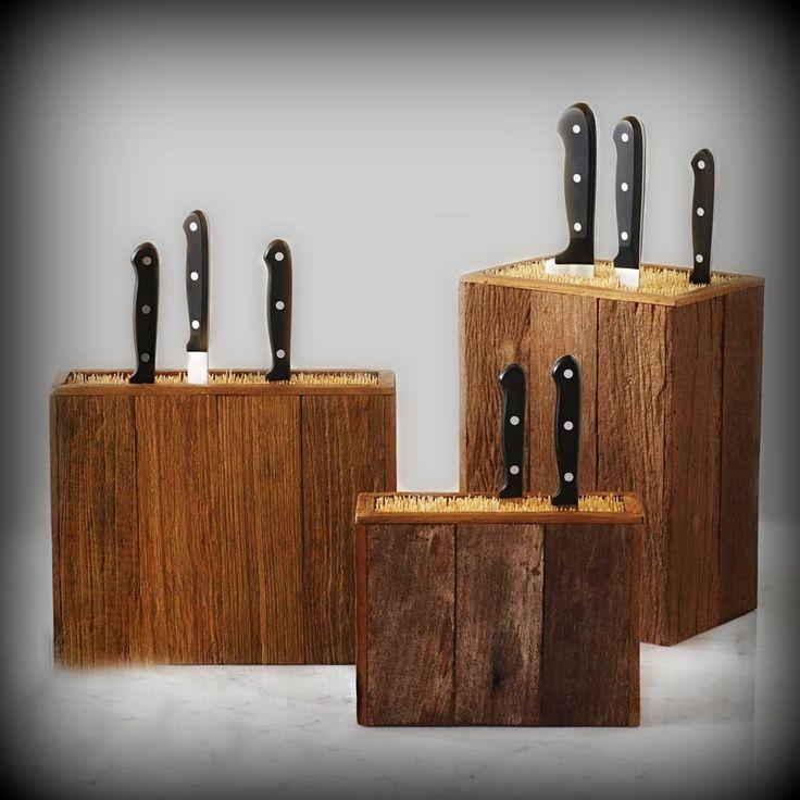 Barn Board with Bamboo Honing Sticks
