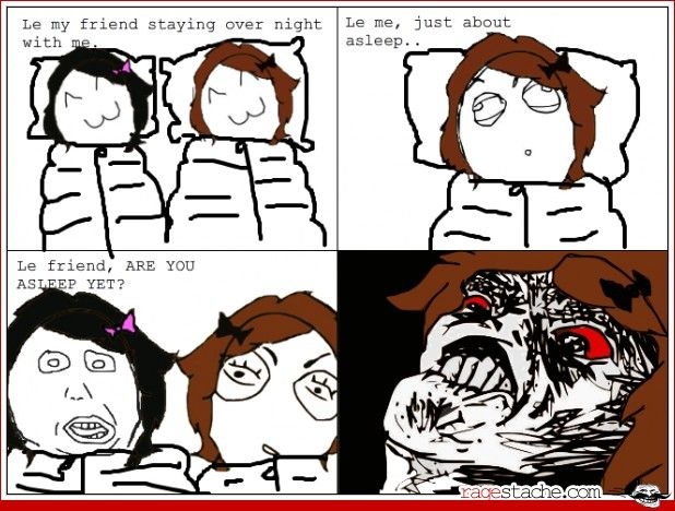 Funny Sleepover Meme : Best rage comics and memes images ha ha funny