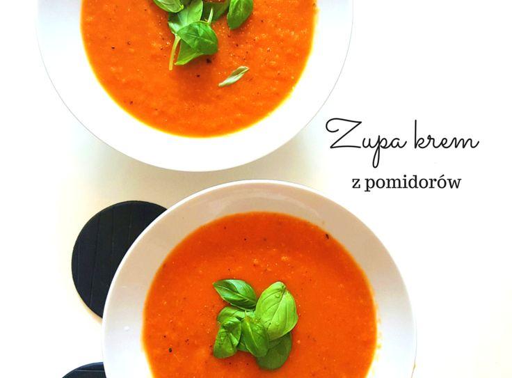 Dziś przepis na zupę krem z pomidorów.